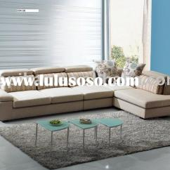Modern Fabric Sofa Set Feather Slipcover Recliner Sets Manufacturers In
