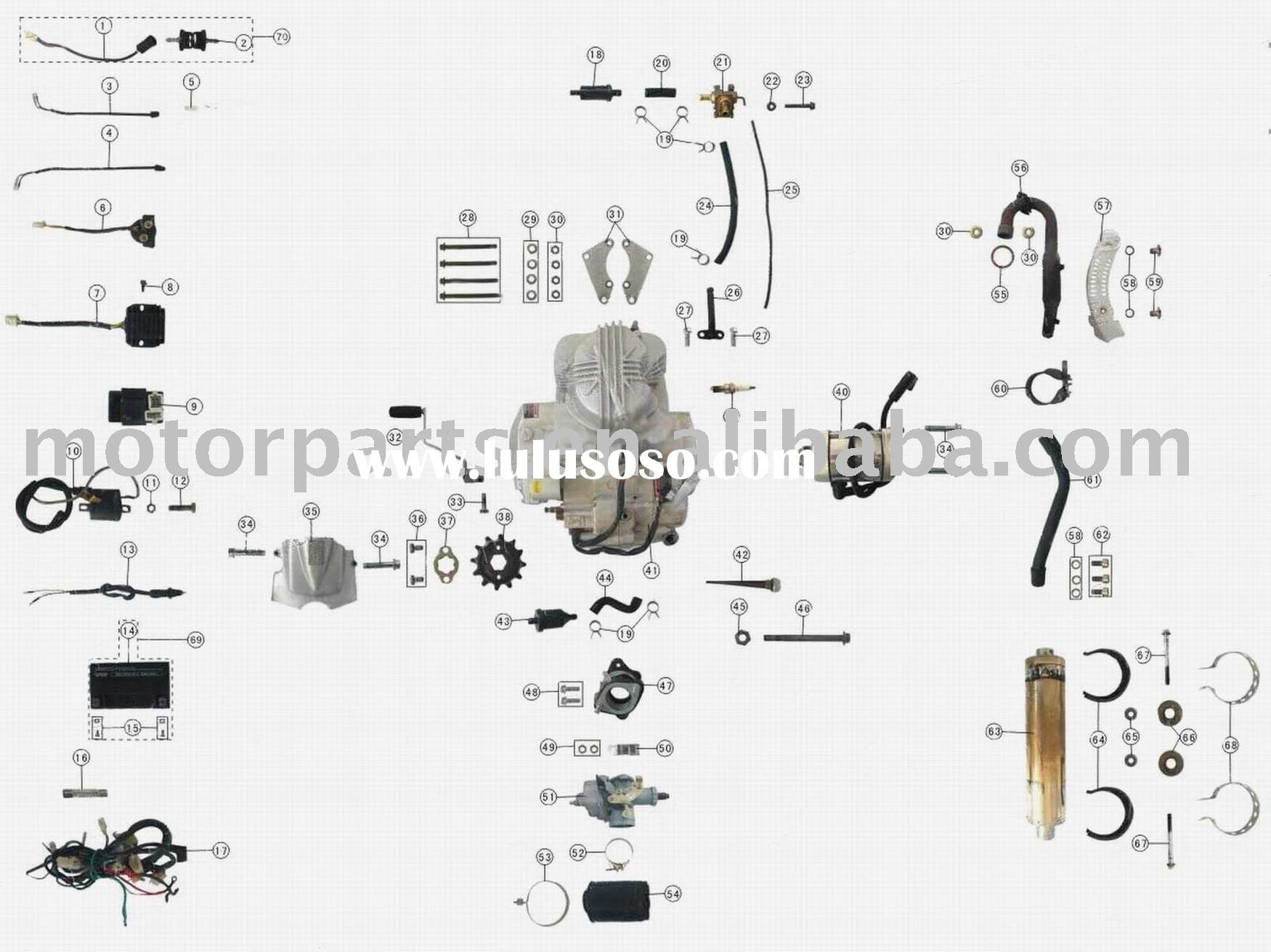 hight resolution of engine parts 250cc atv parts