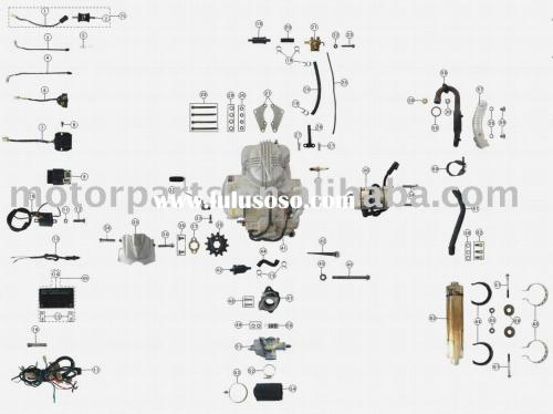 small resolution of engine parts 250cc atv parts
