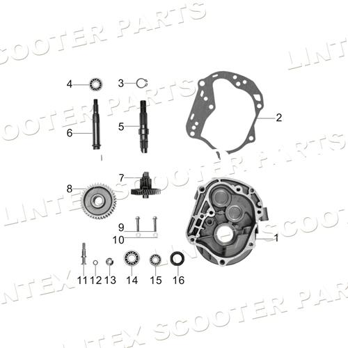 vip scooter 50cc parts, vip scooter 50cc parts