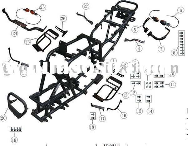 lifan 250cc atv parts, lifan 250cc atv parts Manufacturers