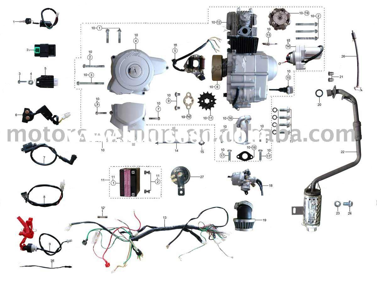 Sunl 250 Scooter Wiring Diagram Trusted Diagrams Kandi Atv 250cc 150cc Elsavadorla 2007 110cc Harness
