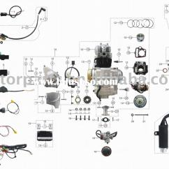 Taotao 50 Wiring Diagram Kenworth Sunl All Data 110cc Library Chinese Quad Engine Parts Atv