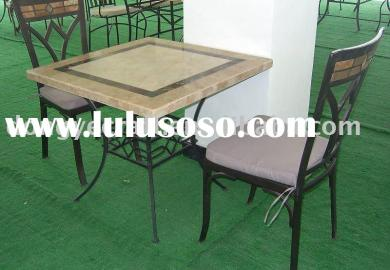 Patio Furniture Sets In Material Wrought Iron Ebay