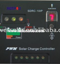 12v 10a solar charge controller sdrc 10ip for dc solar street lighting [ 1660 x 1132 Pixel ]