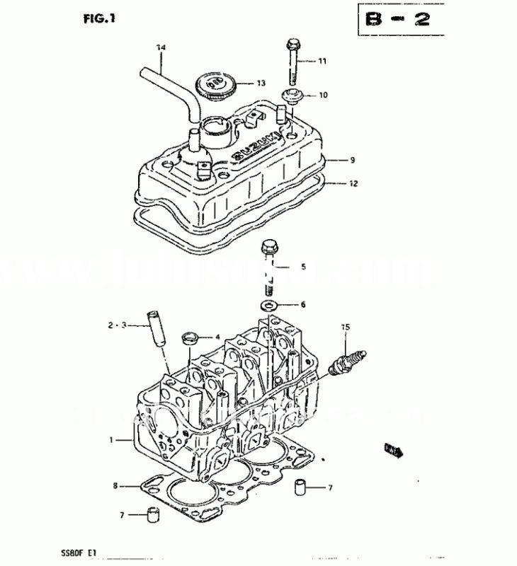 technical diagram of maruti 800 engine