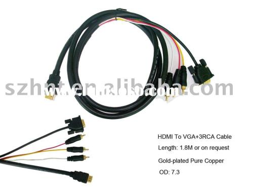 small resolution of rca composite to vga schematic house wiring diagram symbols source hdmi to vga