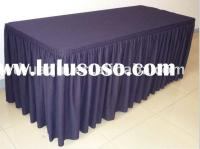 sample of table skirting and procedure, sample of table ...
