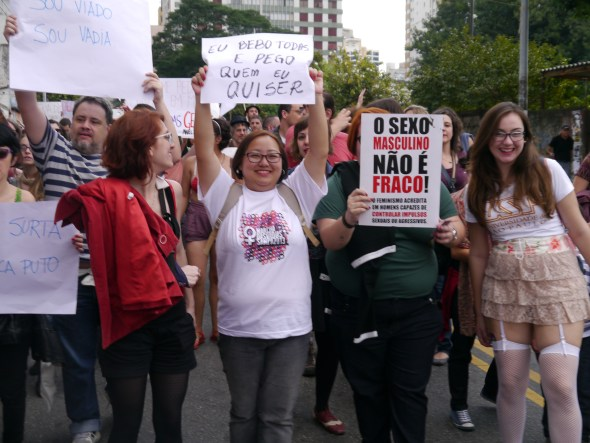 Luluzinhas na Marcha das Vadias 2013