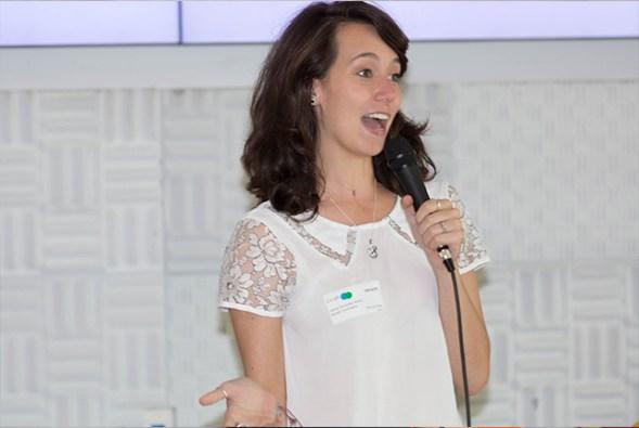 Camila Achutti no Google Women in Tech