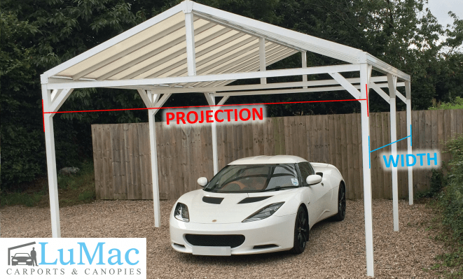 Freestanding Gable T1 Carports And Canopies