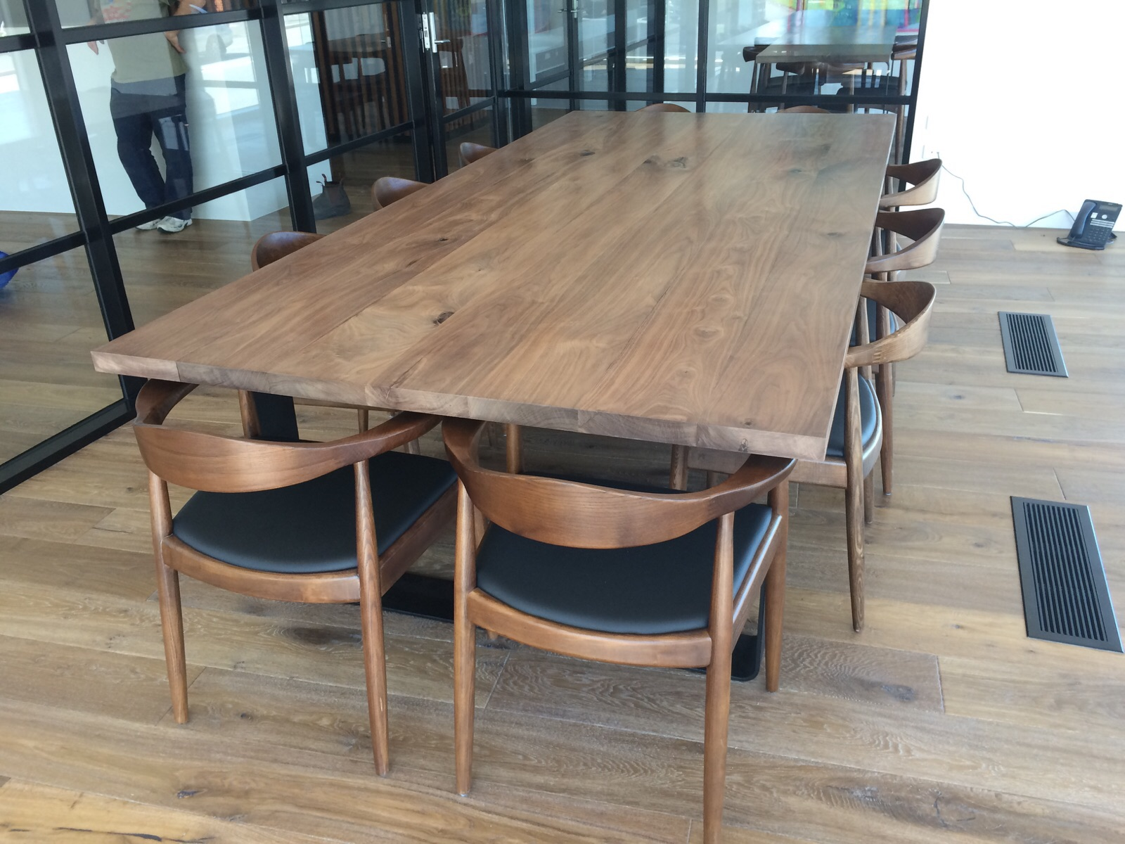 King Dining Table American Black Walnut Lumber Furniture