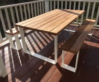 Timber Outdoor Tables Australia - Lumber Furniture