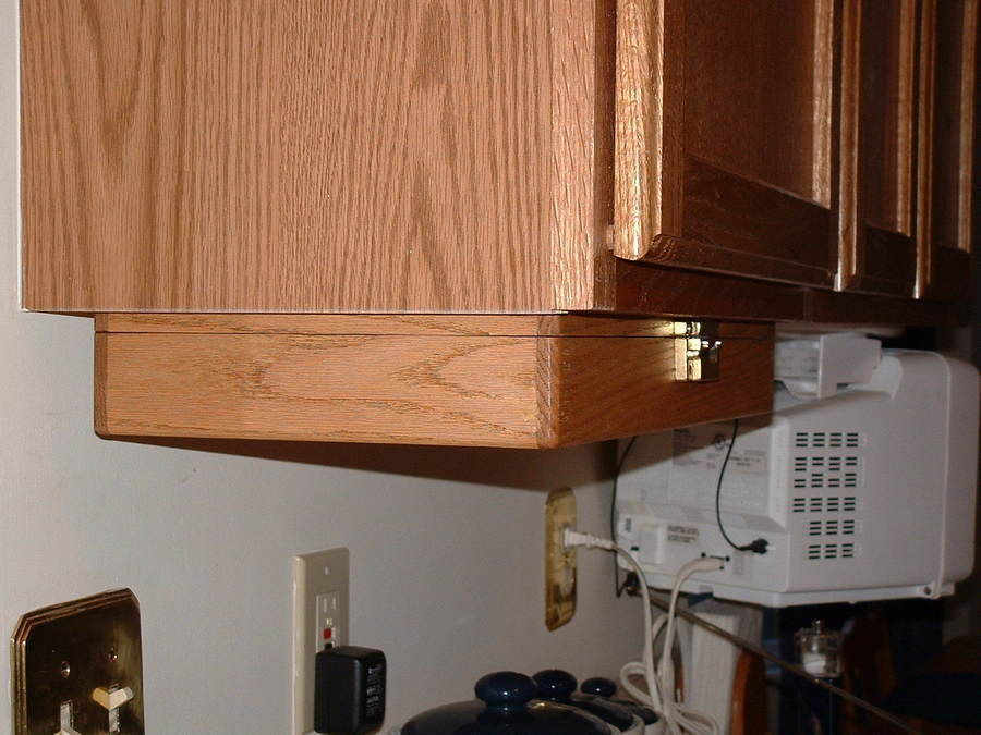 under cabinet spice rack by grant