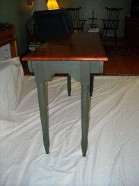 18th Century Folding Campaign Table - by Rev. Jim Paulson ...