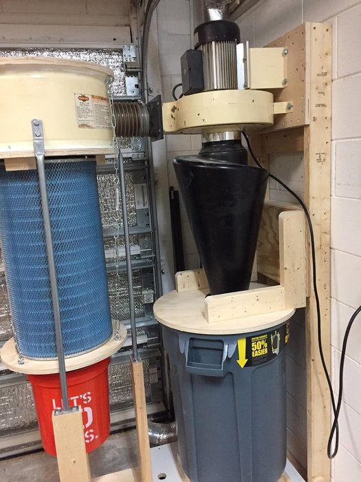 55 Gallon Drum Dust Collector Lid