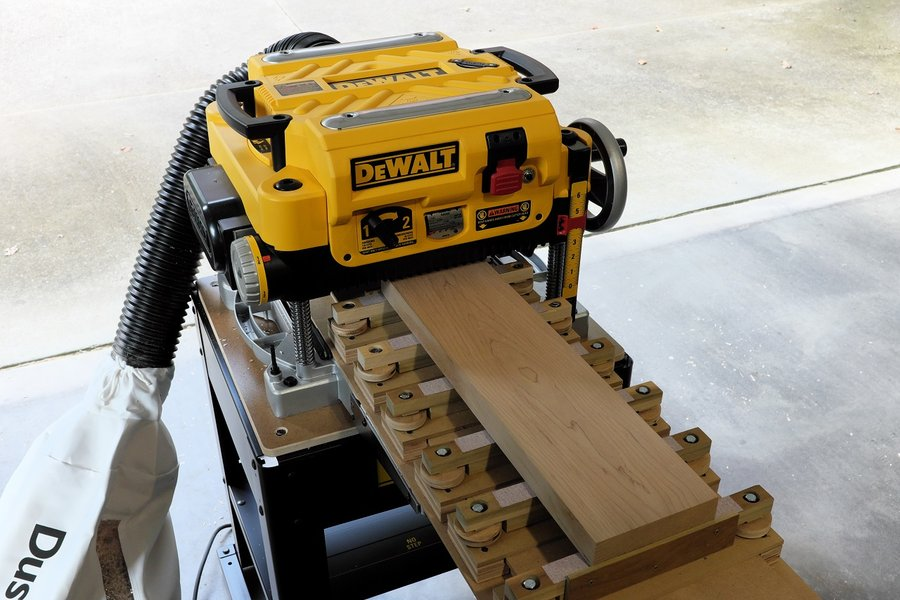 Jointing With A Planer Sled