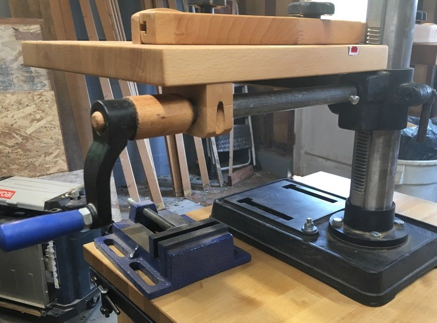 Drill Press Extension