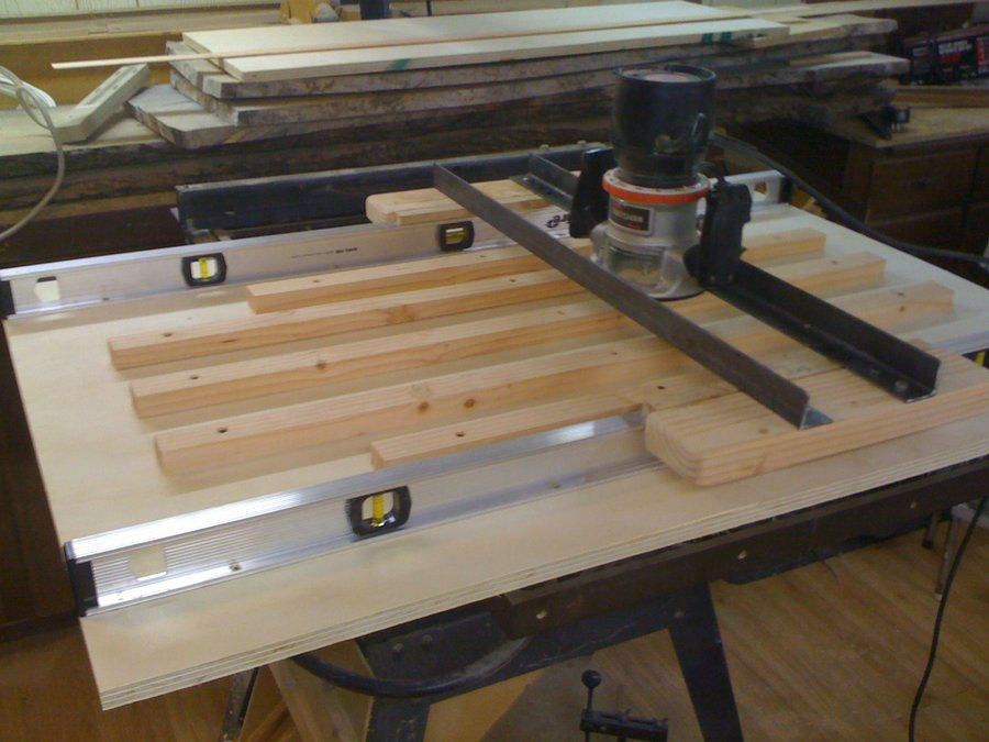 Router Planing Sled Diy