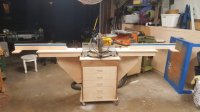 mobile miter saw stand with folding wings - by interpim ...