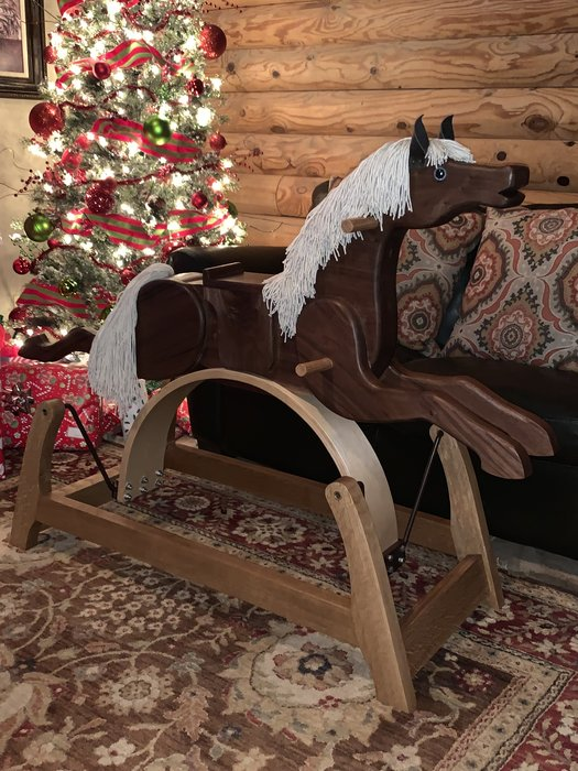 Rocking Horse By Drrob Woodworking Community