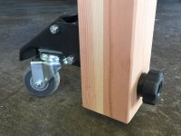 Rolling Assembly Table/Workbench with folding, height ...