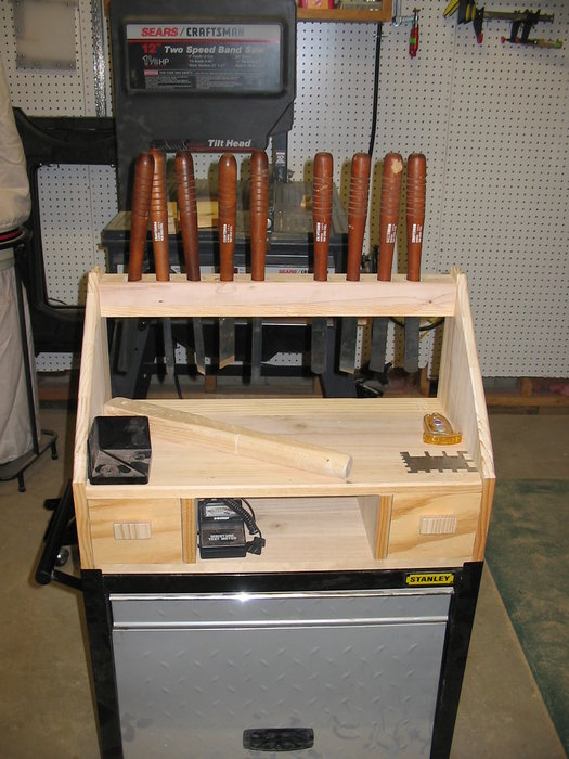 Lathe Tool Holder Rack