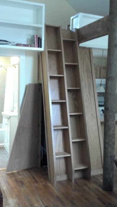 Alternating Tread Stair And A Request For Lj Crowd Wisdom By   Wood Alternating Tread Stair   Modern Staircase   Stair Case   Thomas Jefferson   Spiral Staircase   Tread Depth