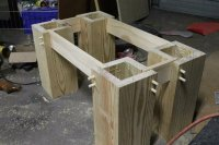 Pine Slab coffee table -- first project! - by bryson ...