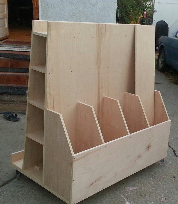 Lumber Cart Plans