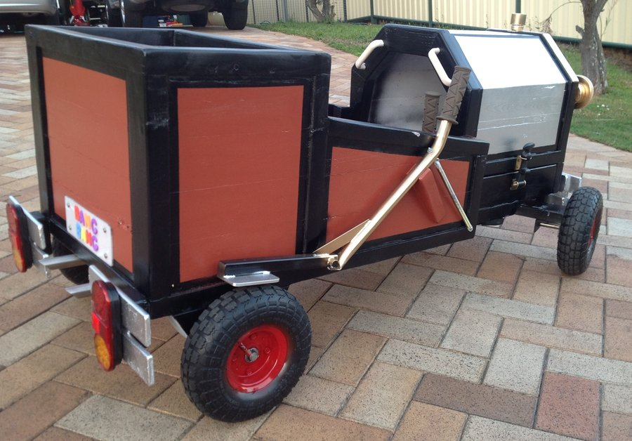 More recycled wood at work as a Billy Cart - by robscastle @ LumberJocks.com ~ woodworking community