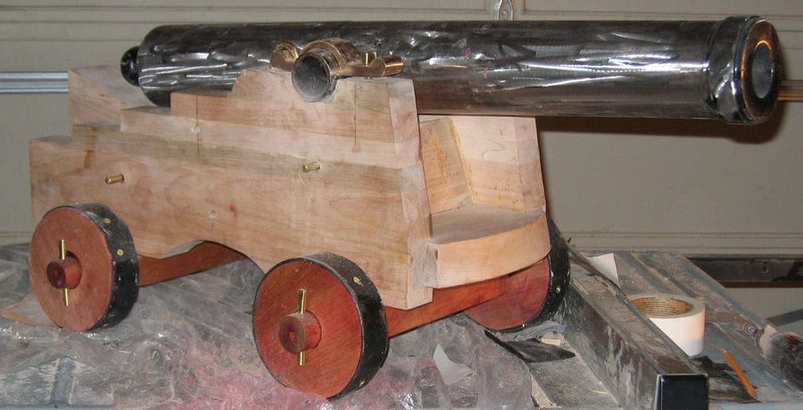 How To Build A Cannon Carriage