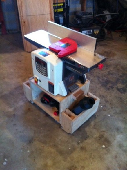 Jointer Planer Cart