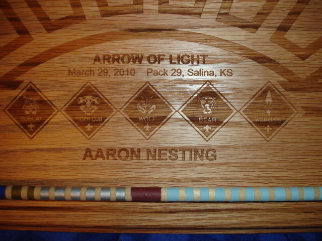 Arrow Of Light Awards For Pack 29 By Drdirt