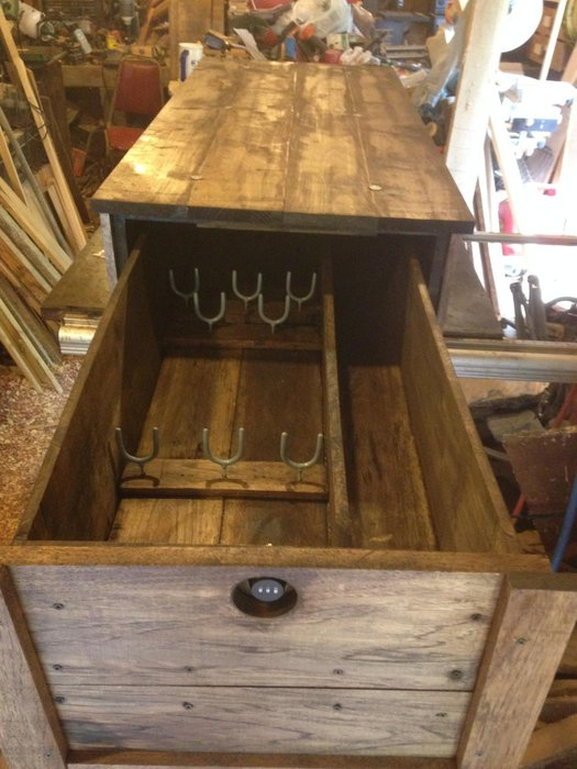 coffee table gun safe by hoss12992