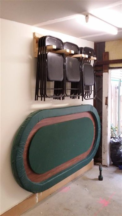 Scrap Wood to Hanging Chair Rack  by TheWoodfather