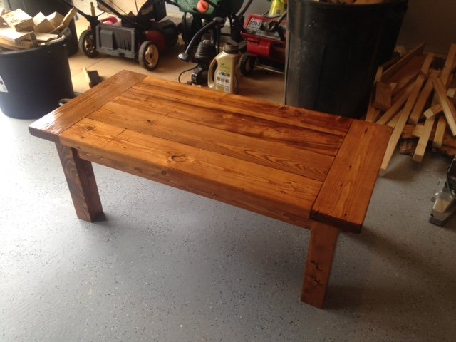 Farmhouse Coffee Table Made With Free 2x6 S By Ryan