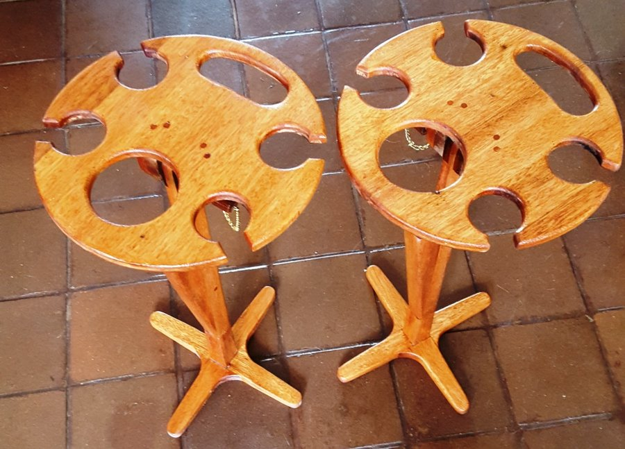 Folding Wine Table For Picnics By GeorgeSA