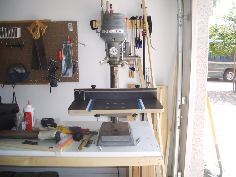 Harbor Freight Drill Press Table
