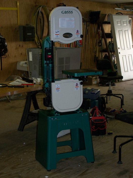 Grizzly G0555 Bandsaw Manual