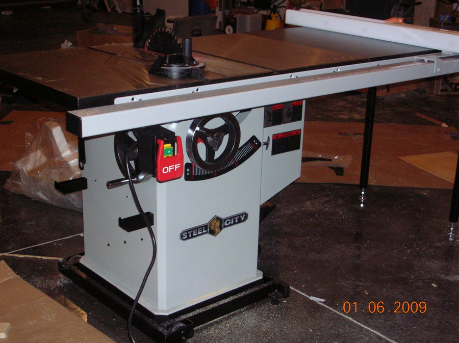 Steel City Cabinet Saw