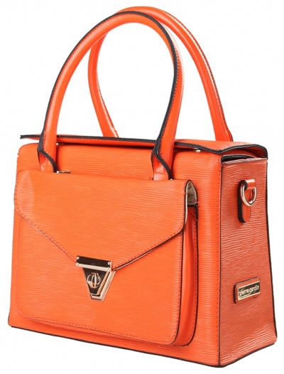 genti elegante dama Pierre Cardin oranj