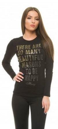 modele bluze dama sport cu scris