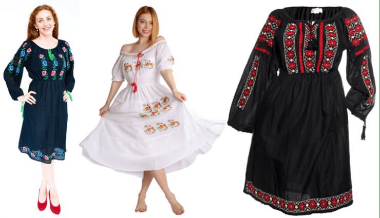 rochii tip ie romanesca