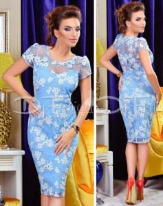 Cele mai frumoase rochii fashion de seara casual si office online