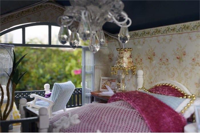 vedere din dormitorul de la etaj