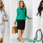Costume dama cu fusta – trenduri fashion 2018