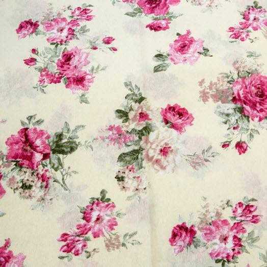 Material draperie Gitte Pink culori alb, roz, verde