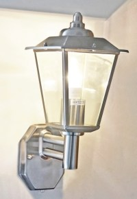 Classica Outdoor Wall Light with Photocell   LED   Dusk to ...