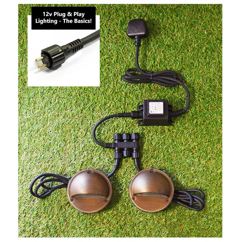 12v ac waterproof transformer versa plug play various wattages